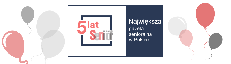 Urodzinowy baner GazetaSenior MS